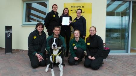 Dogs Trust wins NPM charity event award